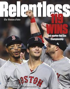 aeffd6ba264df Relive the Red Sox championship season in this must-have keepsake book.  Featuring vivid