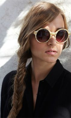 So beautiful...Tippi Sunglasses Love this glass shape