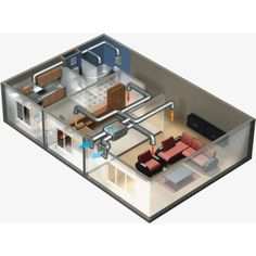 Heat Recovery Ventilation, Ventilation System, Whole House Ventilation, Wet Room Bathroom, Mechanical Ventilation, Heat Exchanger, Heat Pump, Wet Rooms, Home And Garden