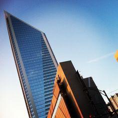 Duke Tower #DNC2012 // {the five senses} in the Queen City #5senses #sight #dnc #uptown #charlotte #clt #wednesday #latergram  (Taken with Instagram)
