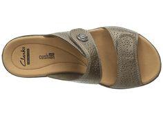 10947ebd756 Clarks Leisa Lacole Women s Sandals Pewter Metallic Leather
