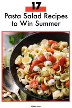 Pasta Salad Recipes to Win All Your Summer Parties – SheKnows Asian Pasta Salads, Tomato Pasta Salad, Mediterranean Pasta Salads, Best Pasta Salad, Summer Pasta Salad, Pasta Salad Italian, Summer Pasta Recipes, Easy Pasta Recipes, Pasta Salad Recipes