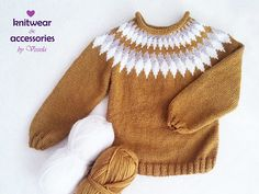 Icelandic Sweaters, Warm Sweaters, Blue Sweaters, Knit Sweaters, Cardigans, Baby Clothes Patterns, Baby Knitting Patterns, Knitting For Kids, Free Knitting