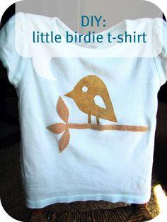 Little birdie t-shirt