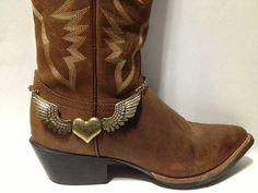 Western adjustable boot charm boot bling boot bracelet  by Dibrel, $21.99