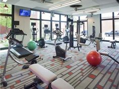 24 Hour State of the Art Fitness Center with Free Weights