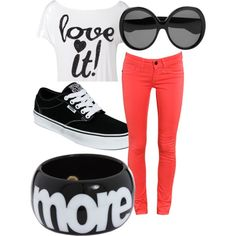 Simple, Yet Cute, created by christinawebster.polyvore.com