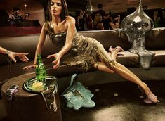 """i like how everything is melting around the woman to show that she is """" melting away"""""""
