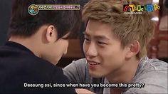 Taecyeon and Daesung's secret garden version