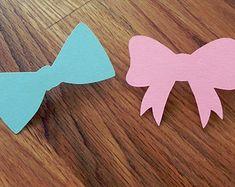 Party Pins: Gender Reveal Baby Shower Die Cut Pink by BabyBinkz