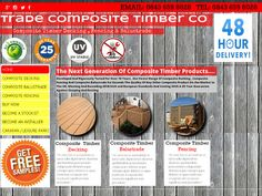 Trade Composite Timber Decking Fencing Balustrade
