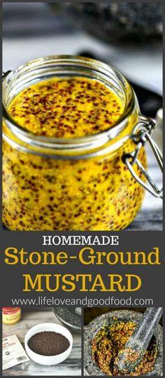 Homemade Stone-Ground Mustard | Life, Love, and Good Food