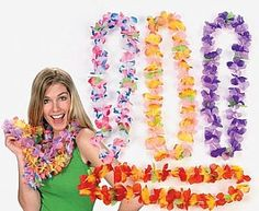 Having a Hawaiian party, we have all the leis and party surplies you need.