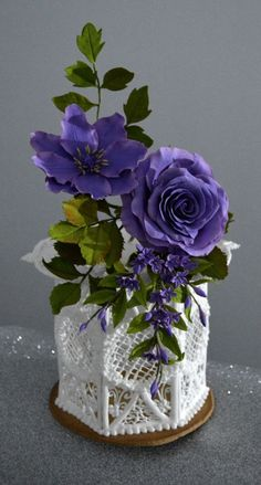 Purple flowers- CPC Purple Collab