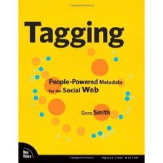 Tagging: People-Powered Metadata for the Social Web Social Web, Desiderata, Power To The People, Tags, My Love, Crafty, Reading, Books, Shopping