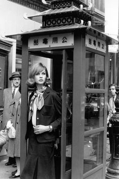 Jean Shrimpton photographed in New York by David Bailey (1962)