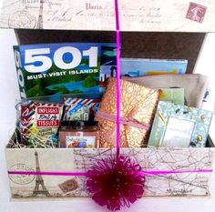 Gift Baskets by LIB is happy to introduce our Goodbye Tension...Time To Travel Retirement Gift Basket. Please contact us with any special requests or customization requests. Thank you.