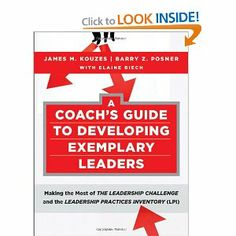 A Coach's Guide to Developing Exemplary Leaders: Making the Most of The Leadership Challenge and the Leadership Practices Inventory (LPI) by James M. Kouzes. $29.68. Edition - 1. Publisher: Pfeiffer; 1 edition (July 20, 2010). Publication: July 20, 2010. Author: James M. Kouzes