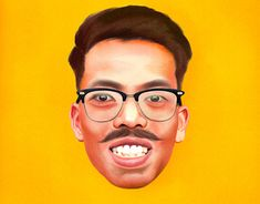"""Check out new work on my @Behance portfolio: """"Self Potrait"""" http://be.net/gallery/62410123/Self-Potrait"""