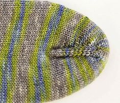 This basic sock pattern is written from the toe up in fingering weight yarn and a variety of sizes, with the Easy Toe cast-on and a short-row heel. You can substitute any of the toe and heel methods … Cable Knit Socks, Crochet Socks, Knitted Slippers, Knit Or Crochet, Knitted Hats, Loom Knitting, Knitting Stitches, Knitting Socks, Hand Knitting