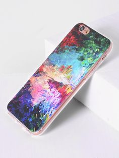 851acf2256 Shop Watercolor Pattern iPhone 7 Plus Case online. SheIn offers Watercolor  Pattern iPhone 7 Plus Case & more to fit your fashionable needs.