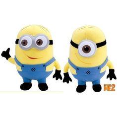 """Despicable Me 2 Dave & Stuart 6.5"""" Minions Plush  ($12.99)"""