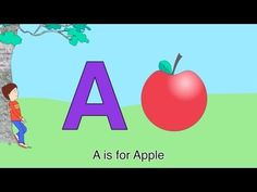 A Is For Apple Alphabet alphabet animals abc animals song for kids learn animals phonics and the alphabet# Free Abc Alphabet Song, Alphabet Video, Alphabet For Kids, Smart Board Activities, Abc Activities, Preschool Songs, Baby Phonics, Phonics Song, Phonics Videos