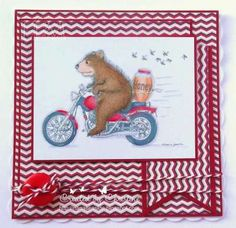 """Masculine card "" by Christine Craig on House-Mouse Designs®, the Gruffies®"