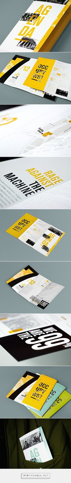 OCCUPY Wall-Street historical booklets on Behance - created via https://pinthemall.net
