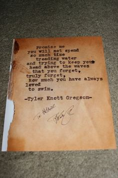 Goodreads | Chasers of the Light: Poems from the Typewriter Series by Tyler Knott Gregson — Reviews, Discussion, Bookclubs, Lists