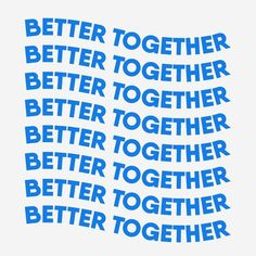 Better Together/ quotes/ life motivation + Inspiration/ word up/ friendship/ relationship Words Quotes, Wise Words, Sayings, Plus Belle Citation, My Champion, Better Together, Cool Words, Slogan, Quotes To Live By