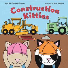 Construction Kitties book by ShariHalpernArt on Etsy https://www.etsy.com/listing/527471327/construction-kitties-book