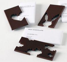Tavolette di cioccolato dietetiche create dal designer Tithi Kutchamuch