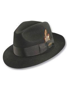 119f5b174afab Stacy Adams Greenwich - Wool Fedora Hat