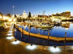 Inner Harbour and BC Legislature, Victoria, Brtish Columbia.