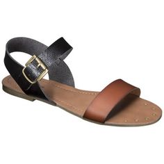 Women's Mossimo Supply Co. Lakitia Sandals.  <3 that it's two-toned!