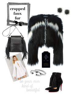 """""""Untitled #244"""" by queenchelleisboomkoo on Polyvore featuring MARCOBOLOGNA, PBteen, Nasty Gal, Christian Louboutin, Mark Broumand, David Yurman, Clive Christian, women's clothing, women and female"""
