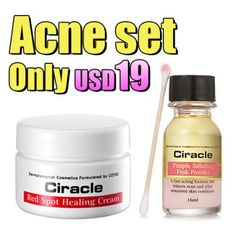 Acne SET!  - 50% discount  - Delivery from Korea to Global Everywhere