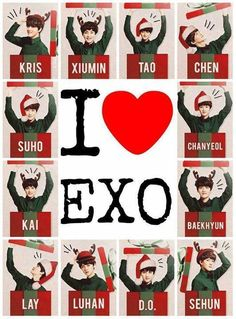 EXO as your Christmas presents. I guess we all should make sure that we be good this year for Santao Claus. ;)
