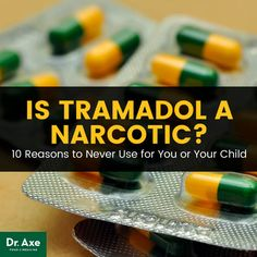 Is tramadol a narcotic? http://www.draxe.com #health #keto #holistic #natural #recipe
