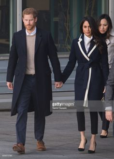 Meghan Markle and Prince Harry visit Millennium Point on March 8, 2018 in Birmingham, England.