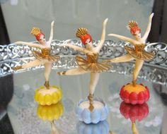 Vintage Ballerina Toppers