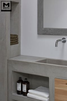 dyi bathroom remodel is no question important for your home. Whether you choose the bathroom remodeling or bathroom ideas remodel, you will create the best bathroom remodeling for your own life. Mold In Bathroom, Concrete Bathroom, Small Bathroom Storage, Bathroom Spa, Bathroom Interior, Bathroom Ideas, Bathroom Faucets, Serene Bathroom, Timeless Bathroom