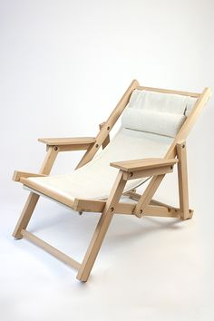 Design Jaap van ulden Folding Furniture, Diy Garden Furniture, Metal Furniture, Folding Chair, Furniture Plans, Furniture Design, Diy Bench Seat, Wood Sofa, Diy Chair