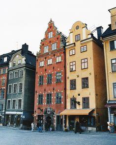 """""""Old town"""" in Stockholm, Sweden"""