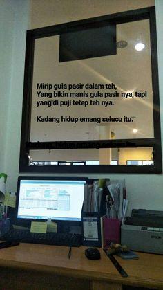 Quotes Rindu, Quotes Lucu, Quotes Galau, Tumblr Quotes, Quran Quotes, Mood Quotes, People Quotes, Funny Quotes, Short Quotes