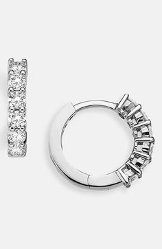I Would Love A Pair Of Small Hoop Earrings That LOOK (Too Friggin' Pricey) Like These For My Second Ear Piercing :)