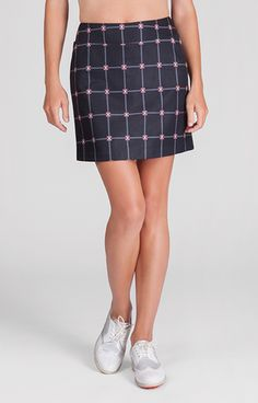 discounted women's clothing, Britt Skort,  Skort,  Tail, ladies golf fashion, golf accessories- From the Red Tees