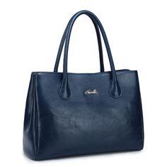 NUCELLE Real Genuine Leather Purse Satchel Shoulder Hand Bag Office Lady Women