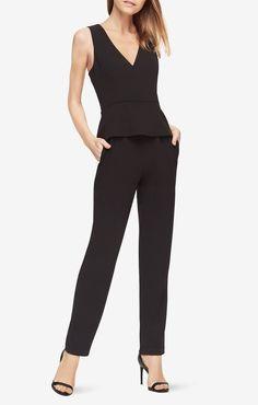 498516da18 Cerys Peplum Jumpsuit Parisian Style